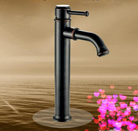 bathroom and kitchen supplies - Water tap Antique copper Kitchen faucet Cold and hot two way control Bathroom Sink Faucets Other Bath Toilet Supplies A