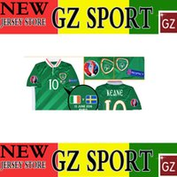 Wholesale 13 JUNE Ireland top thai version jersey customize patch