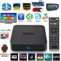 tv box - MXQ Streaming Set Top Boxes Amlogic S805 Quad Core Media Box TV Kodi XBMC Pre installed better than cs918 Q7 M8 MX Smart tv box Netflix