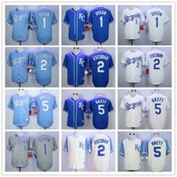 american complete - Complete Logo name Stitched DYSON ESCOBRA BRETT American League Cool Baseball Jersey Royals Jerseys Sport HOT sale