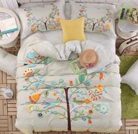 baby girl bedroom sets - Baby Girls adult Cartoon Bedding Set Children s Comfortable tree bird Bedroom Duvet Cover Set Bedsheet Quilt Cover Pillow Case