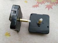 achat en gros de horloge à quartz de mécanisme silencieux-10PCS Sweep Haute Couple Quartz Mouvement D'horloge Silent Kit Mécanisme Broche Avec Trois Bras Arbre 28mm