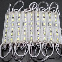 12V 12mm CE DC12V 6 LED IP66 WATERPROOF SMD 5630 5730 Module Light WHITE Warm White RED BLUE GREEN Modules Lamp Backlights new