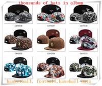 Ball Cap adult album - New Snapback Hats Cap Cayler Sons Snap back Baseball football basketball casual Caps adjustable size drop Shipping choose from album CY21