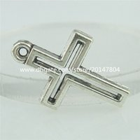 antique christian crosses - 15739 Alloy Antique Silver Vintage Faith Religions Christian Cross Pendant