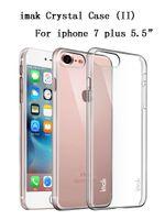 apple ii plus - original IMAK Clear Crystal II Hard Cover Case For Applre iphone plus CaseTransparent Hard Case For iphone7 plus Case Cover