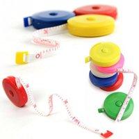 Wholesale NEW retractable ruler Tape measure mini ruler portable m retractable ruler Randomly Color