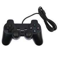 Wholesale Game Controllers for Computer Laptop USB Wired Joypad for PC Game Hardware Joystick Gamepad M Feet Black