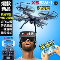 Alarm Clocks 6ch rc helicopter - New Arrival Toys SYMA X5SW CH RC Quadcopter RC Helicopter without camera Toys Drone