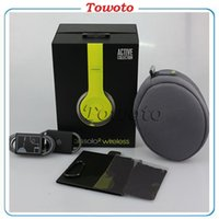 Wholesale Solo2 wireless Headphone On ear Bluetooth Headphones over Headset with sealed box solo Earphone for iPhone7 Super DJ stereo vs bluedio