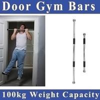 Wholesale 60 cm Thicken Indoor Fitness Horizontal Pull up Bar Door Portable Door Gym Way Gym Bar Chin Up Bar