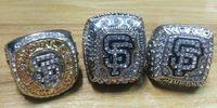 2010 2012 2014 anillo de béisbol establece réplica anillos de campeonato de la Serie Mundial tamaño 11 para los aficionados con una caja