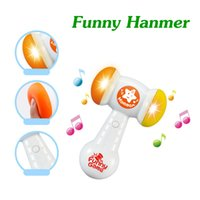 Wholesale Hot Children Plastic Toys Baby Educational Toys Child Music Toys Baby Noise Maker Small Music Hammer Kids Funny Toys Gifts TY31