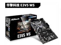 asrock motherboard - ASROCK ASRock E3V5 WS server motherboard C232 chipset support E3 v5