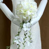 beauty pe - Eye catching Charming Round PE Bridal Bouquets Beauty Newest Wedding Bouquets Bridal Bouquets buque de noiva Simulation Flowers