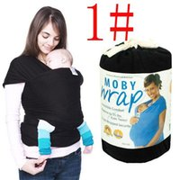 Wholesale 9 Colors Brand New Moby Wrap NewBorn Baby and Infant Carrier Sling Comfort Baby Safety Gear
