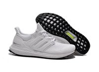 Wholesale Ultra Boost All White Black Womens Men s Athletic Shoes Mens Sports Running Shoes