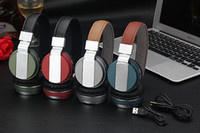 big bt - Manufacturers wireless bluetooth headset wearing headphones BT type belt card FM bluetooth three big functions