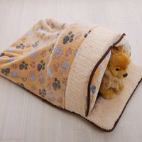 Wholesale Hot selling Pet supplies dog mat can unpick and wash for cat and dog autumn winter warm spot cartoon small dogs kennel cat litter