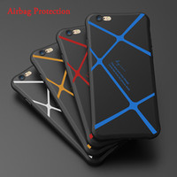 airbag cover - Airbag Protection Shockproof Matte NEW For Apple iphone s Plus Phone Case Silicone Soft Fashion Back Cover
