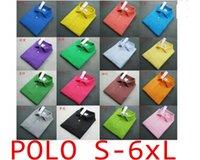 Wholesale 2016 Summer Men s Cotton Men s cotton Polo shirt Quick Dry Embroidery Crocodile Logo Casual Shirt LS plus size DHL Free