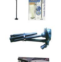 Wholesale Trusty Cane LED Light Foldable Triple Head Pivot Base Hurry Secure