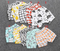 Wholesale 50pcs Brand Cotton Baby Kids Shorts Children Summer Harem Short Pants For Boys Girls Toddler Casual Clothing Months Years