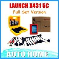 achat en gros de x431 complète-Gros-2016 100% LANCEMENT originale X431 5C Pro X431 V Remplacement Wifi / Bluetooth Tablet Diagnostic Tool Set complet de mise à jour en ligne