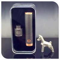 best copper - SV Mod Kit with red Copper SV Mechanical Mod and SV RDA Atomizer fit battery best quality clone