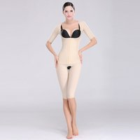 Wholesale Summer Women Sculpting Shapers High Waist Ultra thin Seamless Breathable Gather Breast Care Solid Standard Women Bodysuits