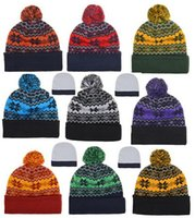 arrival sports beach - New Arrival high quality Beanies Hats American Football Beanies Sports Beanie Knitted Hats
