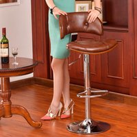 bentwood stool - European classic bentwood chair bar chairs Bar highchair reception rotating lift stool