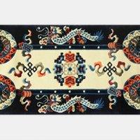 Wholesale Sitting room tea table bedroom bed Tibetan carpets contracted national antiskid pure wool carpet