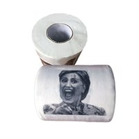 Wholesale 2016 new Hillary Clinton Donald Trump Barack Obama Toilet Paper Novelty Funny Toilet Paper Gag Gift for you