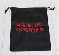 Wholesale FNAF bags five nights at freddy s toys bags Storage bag five nights at freddy bag freddys Shopping