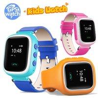 Niños inteligente GPS del reloj localizador de llamadas SOS del localizador del buscador rastreador TOLERADO Anti-perdido monitor A3 mejor reloj del regalo para los niños
