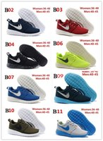 athletic brands baseball - Cheap Brand Roshe Run Running Shoes For Women Men Classical Lightweight London Olympic Athletic Outdoor Sneakers Eur Size