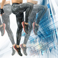 fitness wear training wear - Cheap Camo Mens Compression Pants Leggings Jogging Running Base Layer Fitness Trousers Tights Sport Training Gym Wear