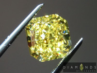 Wholesale 2 ct Fancy Vivid Yellow VS2 Radiant Cut Diamond GIA R6495 Diamonds by Lauren