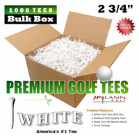 Wholesale 2 quot Golf Tees Player Supreme PREMIUM WHITE T BULK BOX C