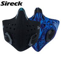 Wholesale Sireck Men Women Cycling Mask Balaclava Training Mask Dustproof amp Anti pollution Activated Carbon Filter MTB Road DH Bicycle
