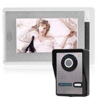Acheter Lcd moniteur d'affichage vidéo-7 pouces écran couleur LCD Téléphone visuel de porte un appareil photo avec un moniteur de soutien Night Vision