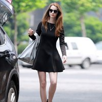 Wholesale 2016 NEW PROMOTION Material of high end smooth partial thick dress large size