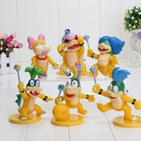 Wholesale 23sets set of Super Mario Bro PVC Action Figure Toys Koopalings Figure Dolls
