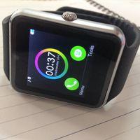 Wholesale newest gt08 sport bluetooth smart health watch for apple samsung gear smartwatch with sim card wearable device reloj inteligente