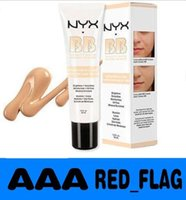 Wholesale 2016 Latest NYX BB Cream beauty balm baume beaute brightens smoothes moisturizes oil free Mineral Enriched ml Colors LLY16