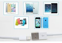 Wholesale Cable For iPhone6 s Plus iPhone5 SE G Wire USB Charging Data Sync Line iphone4 s G iPad mini1 Cables with retail box