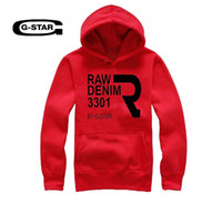 big mens sweatshirts - big size Mens Hoodies Fashion Sweatshirts Hip Hop G star high quality o neck coat Clothes