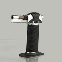 Wholesale Refillable butane gas creme brulee torch jet lighter also offer usb arc oil cigarette ciga lighter grinder