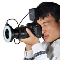 Wholesale Aputure Amaran Halo AHL HC100 AHL HN100 LED Macro Ring Flash Light for Canon Nikon DSLR Cameras